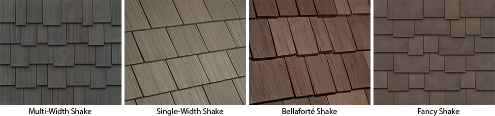 Fiberglass Cedar Shake Siding : Shingle roofing surrey davinci enviroshake composite