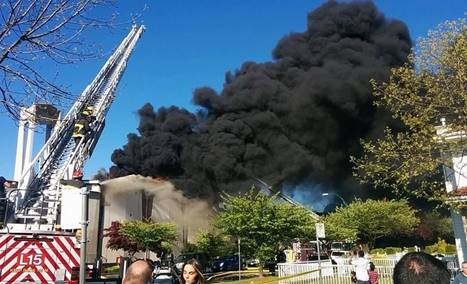 Vancouver Church Fire