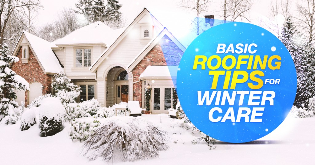 Basic Roofing Tips For Winter Care Techpro Roofing Surrey Bc